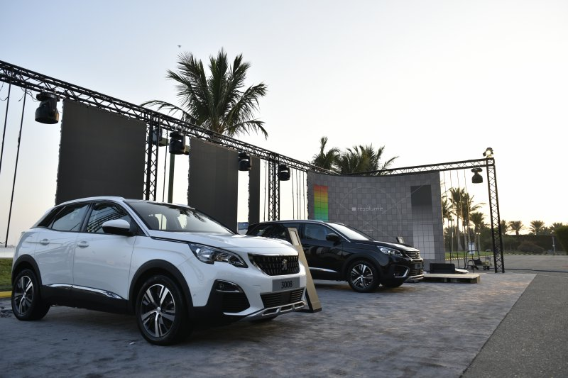 Launching The First Peugeot Test Drive Festival in Jeddah