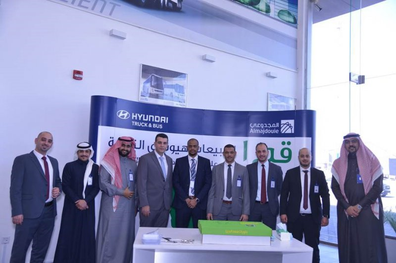 Celebration first place for Hyundai Commercial Vehicle sales in GCC 2020
